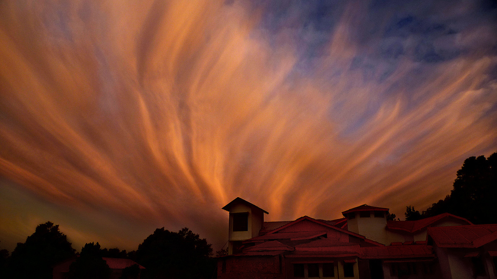 Lighting up the skies! (Photo by anurag agnihotri)