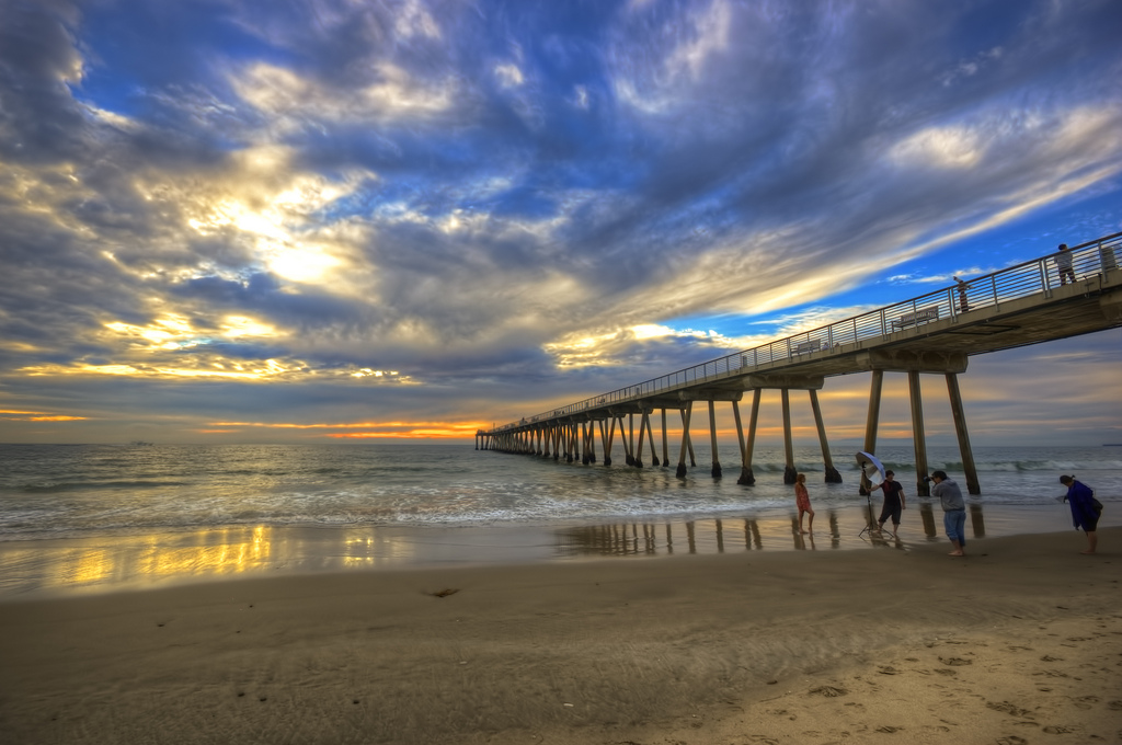 Hermosa Beach (Photo by Neil Kremer)