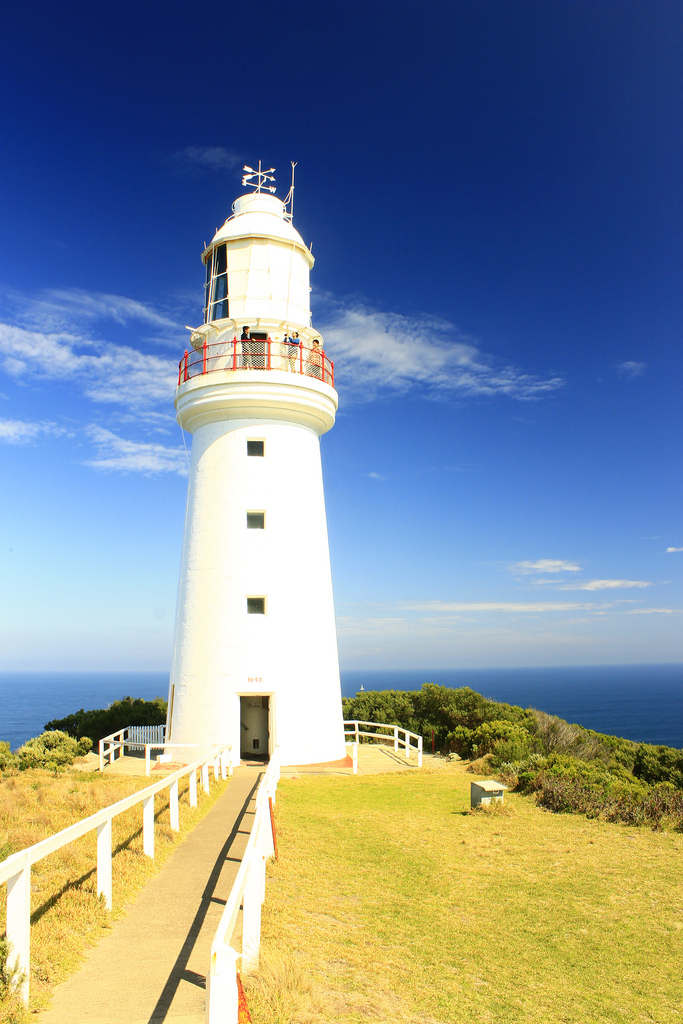 Lighthouse at Cape Otway (Photo by FarbenfroheWunderwelt)