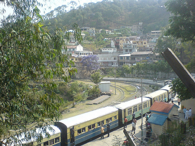 Kalka Shimla Train (Photo by JK)
