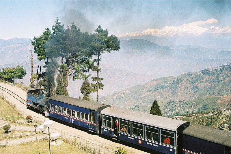 Darjeeling HImalayan Railway (Photo by A M Hurrell)
