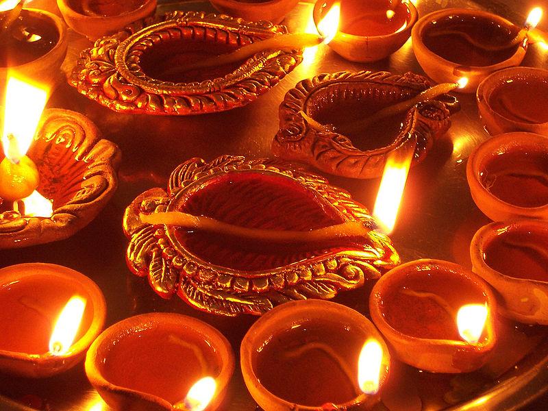 http://commons.wikimedia.org/wiki/File:Diwali_Diya.jpg