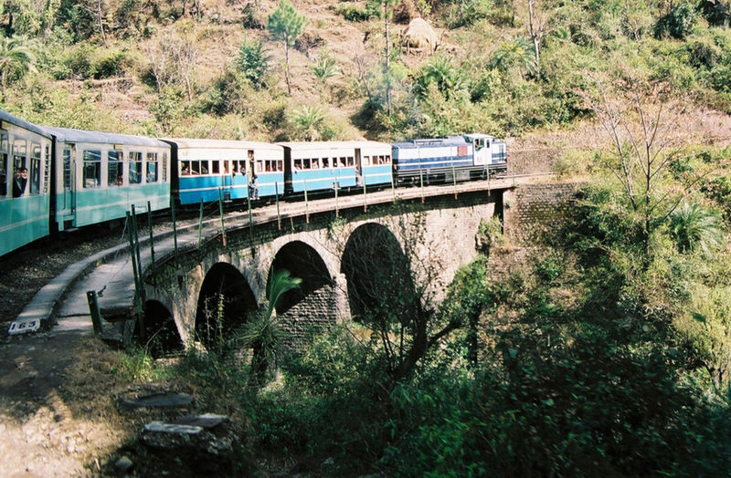Kalka- Shimla Train (Photo by A.M. Hurrell)