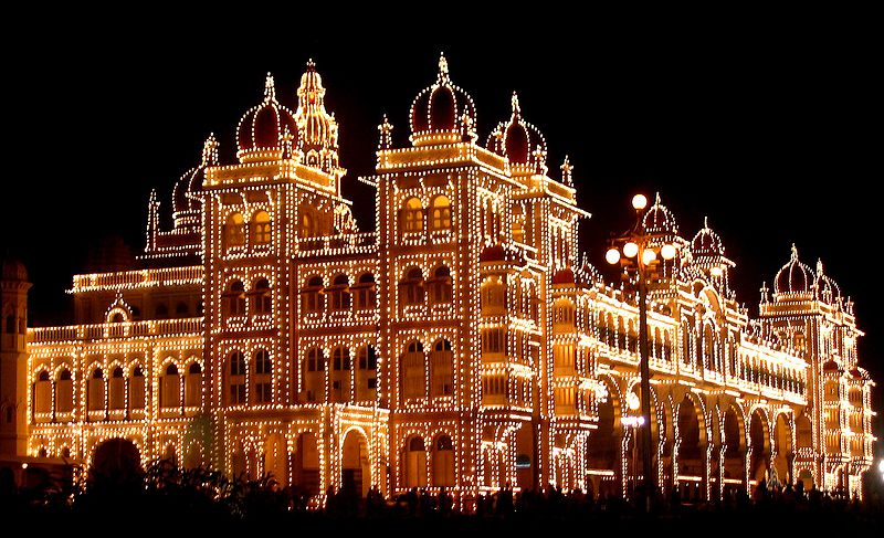 Mysore Palace (Photo by Ananth)