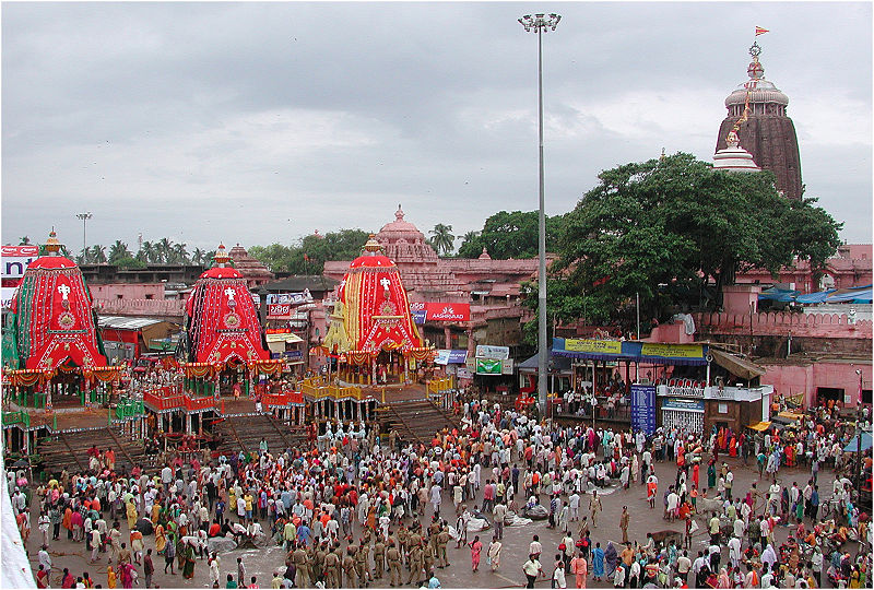 Rath Yatra (Photo by G.-U. Tolkiehn)