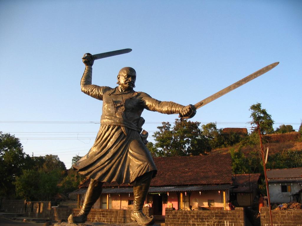 Statue of Baji Prabhu Deshpande (by Ankur P)