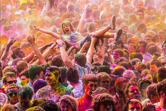 Photo of Rang-De-Holi Fest by Official Page