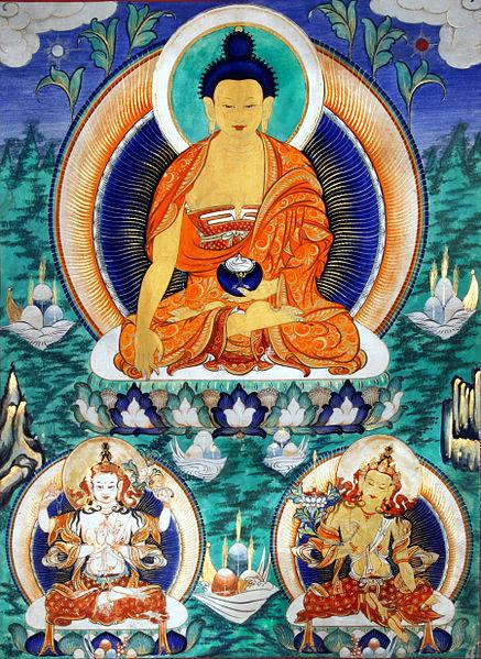 Shakyamuni-Thangka