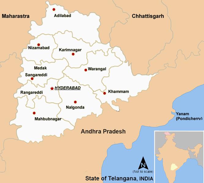 Telangana_Districts_Map