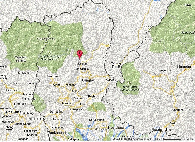 Map via Google Maps