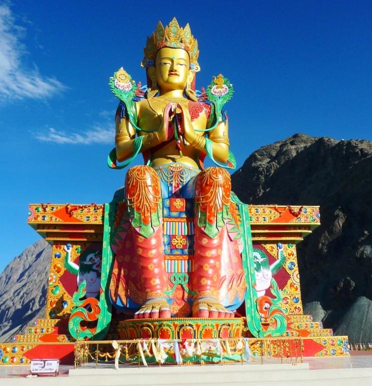 Maitreya Buddha (by John Hill)