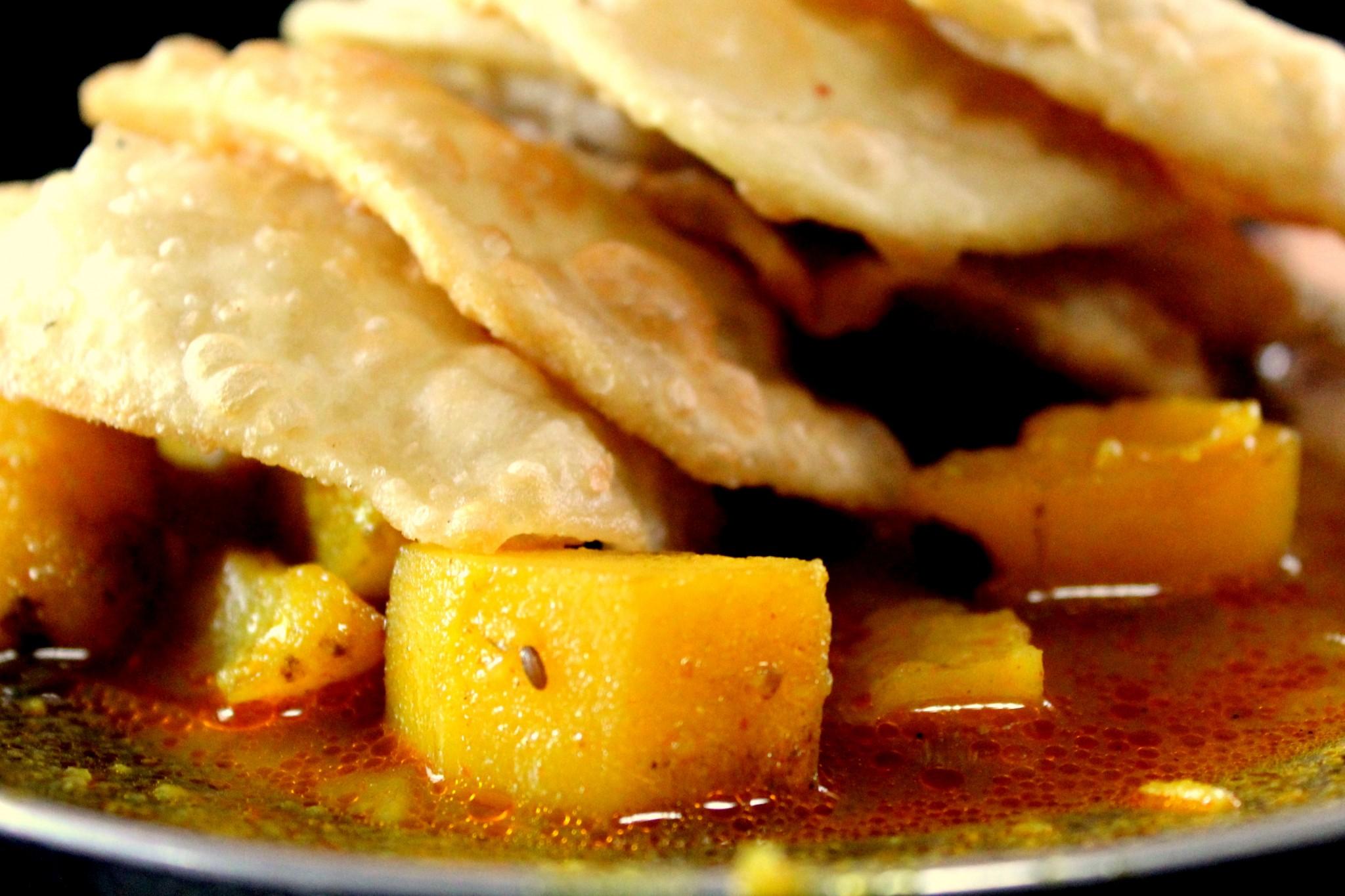 Poori Subzi (by Cherishsantosh)