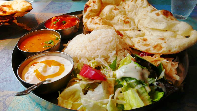 Yummy Thali (by Fountain Posters)