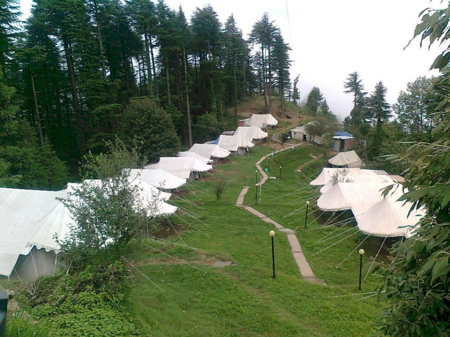 Camps at Kanatal from official facebook page of Camp Carnival