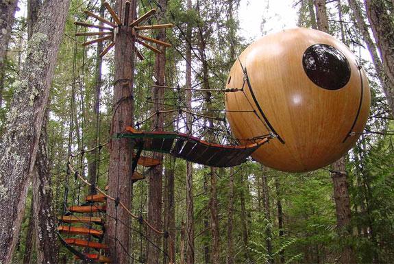 Free Spirit Spheres, Vancouver Island, Canada 1