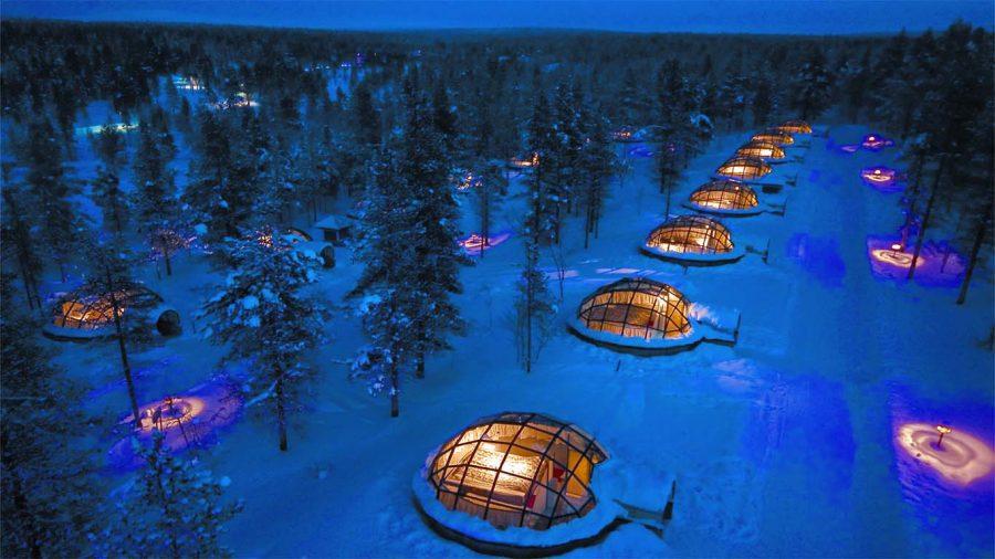 Kakslauttanen Hotel, Saariselkä, Finland 1