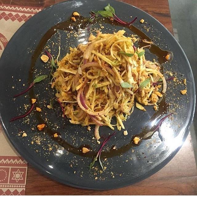 Raw Mago Salad-Burma Burma