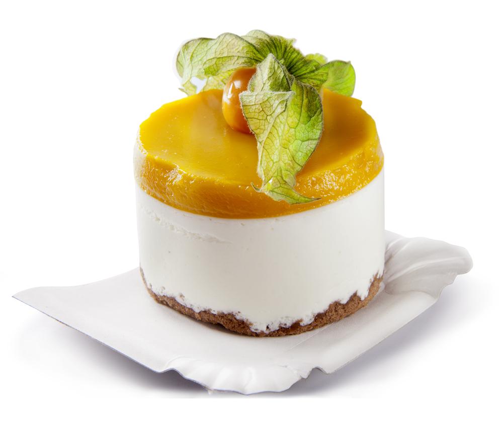 mango lime ricoota cream