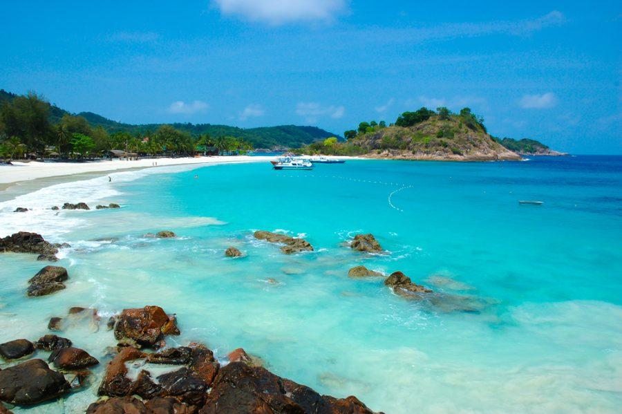 Tropical beach in Pulau Redang