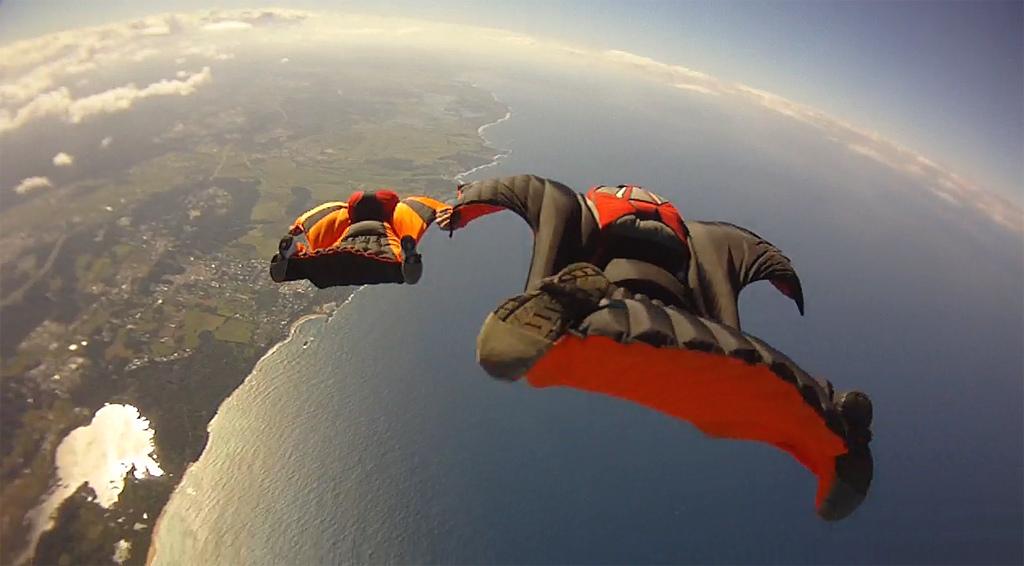 5 Wingsuit flying