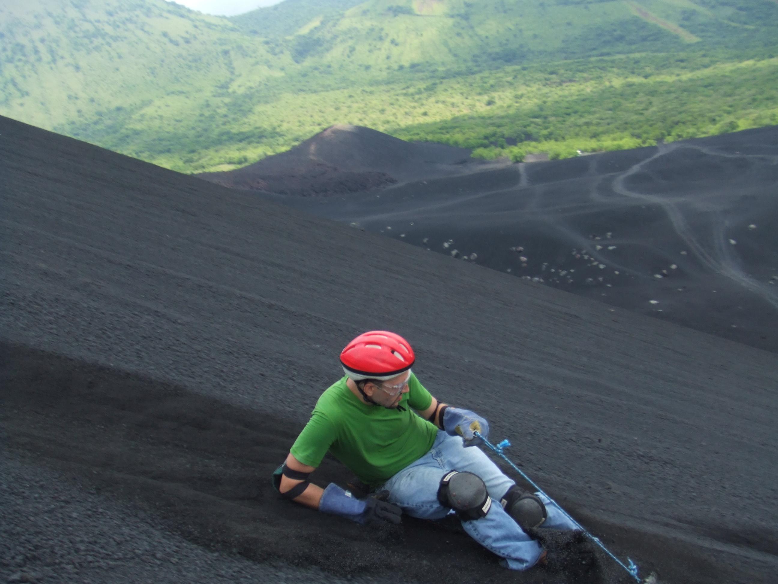 7 Volcano Surfing