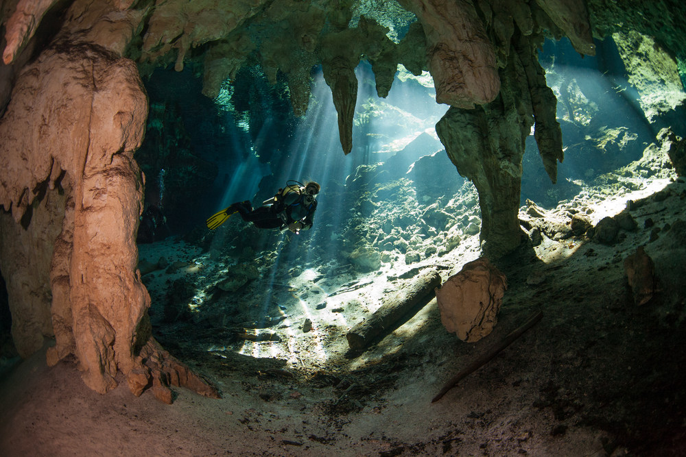 8 Cave Diving