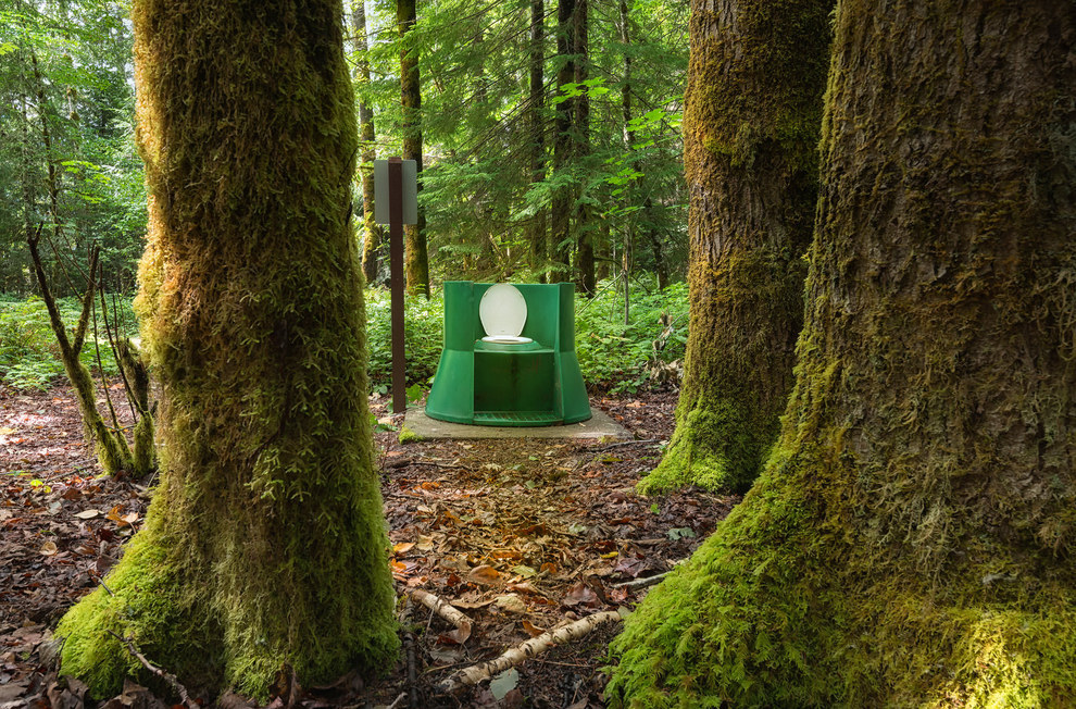 Eco toilet British Colombia Canada
