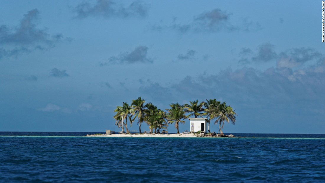 Toilet Island Belize