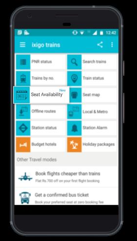 Book Your Train Ticket Through Seat Availability Calendar! | ixigo