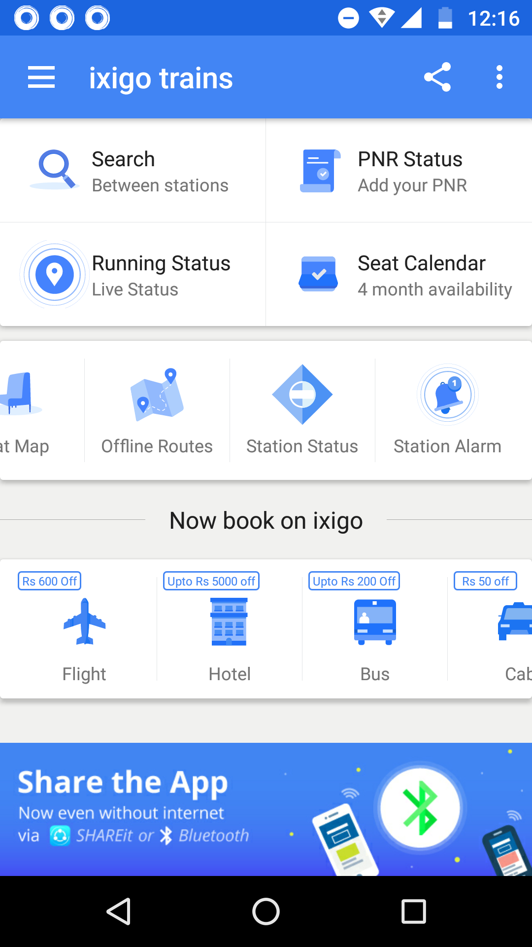 Update Your ixigo Train App to Get the Best Features