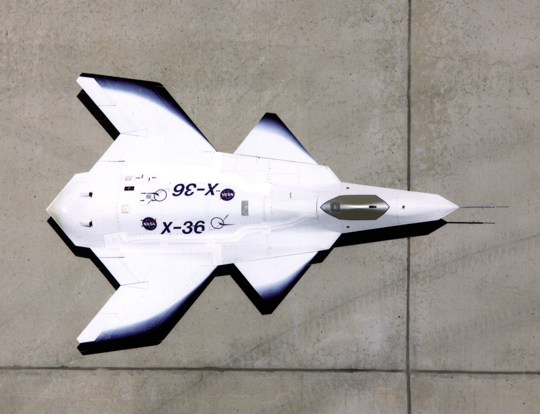 McDonnell_Douglas_X-36_planform NASA Dryden Flight Research Center