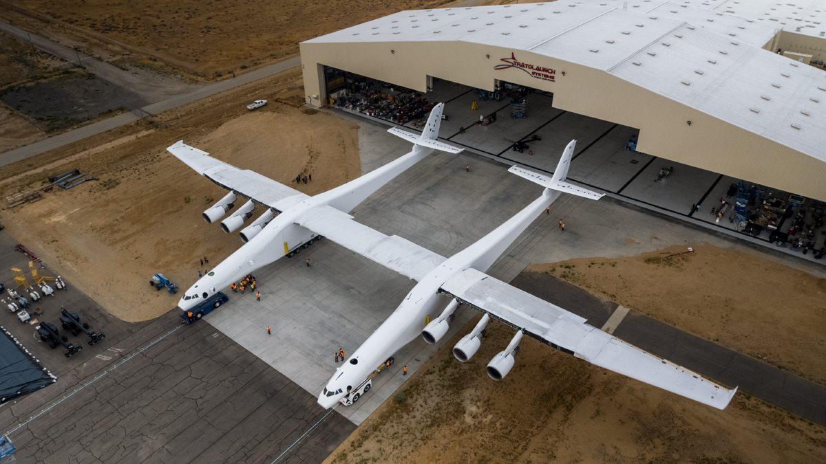 Stratolaunch plane Paul G Allen Facebook