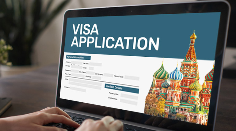 Russia e-visa for Indians