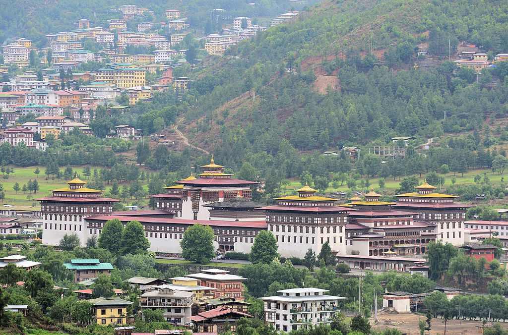 View_of_Tashichodzong_from_the_NE