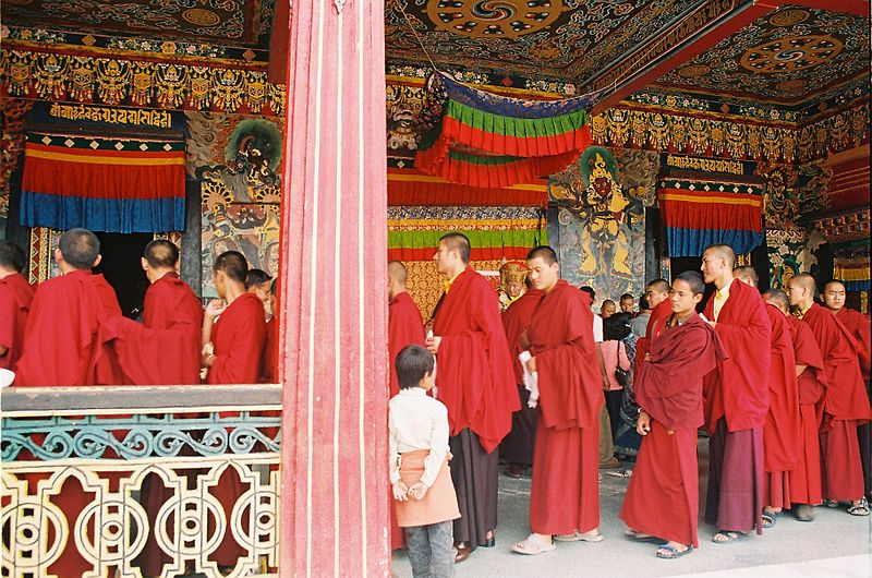 Buddhist Monastery (Photo by Amar)