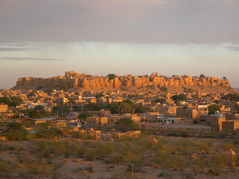 Jaisalmer Fort (Photo by Constcrist)