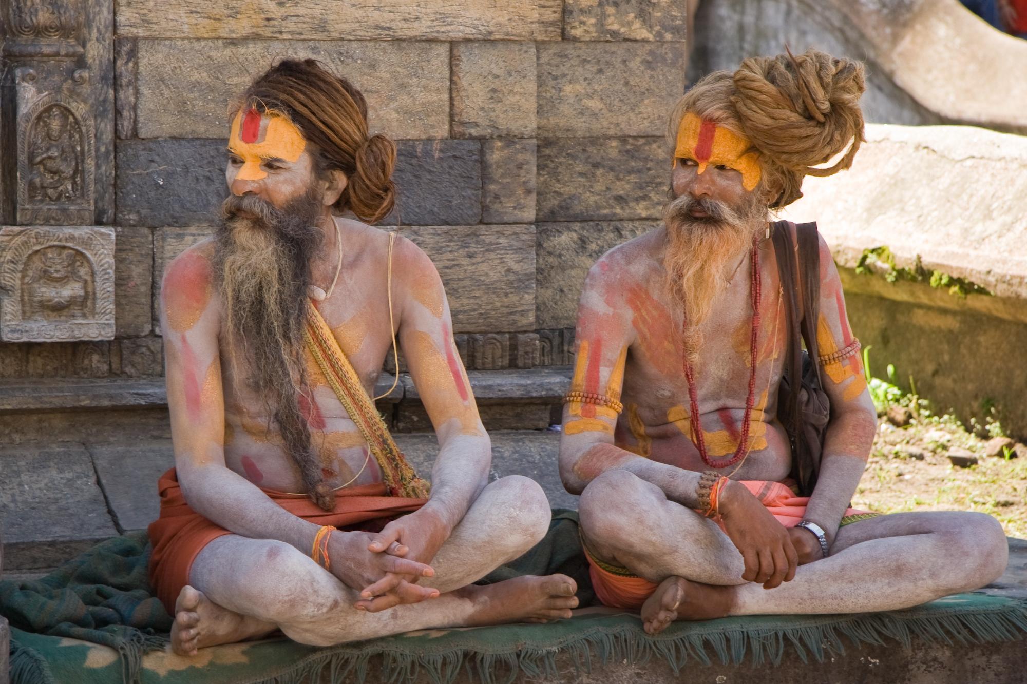 Sadu_Kathmandu_Pashupatinath_2006_Luca_Galuzzi