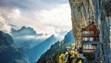 Äscher Cliff, Switzerland 1