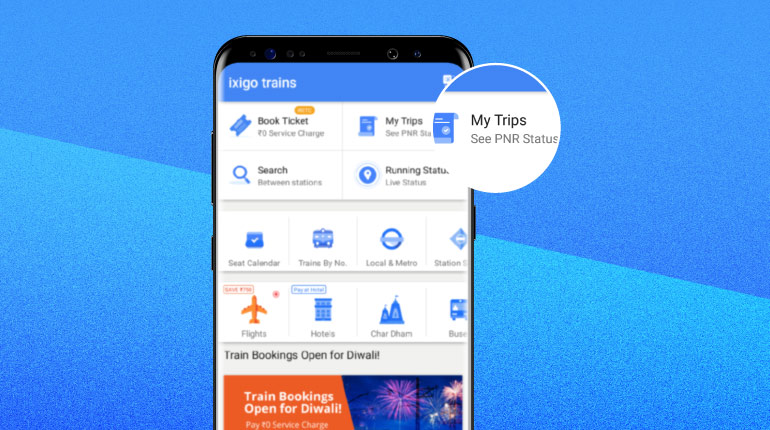 PNR Prediction – A must try feature for all train travellers