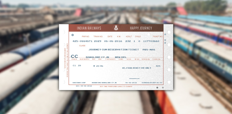 Indian Railways to Offer Tickets in Regional Languages