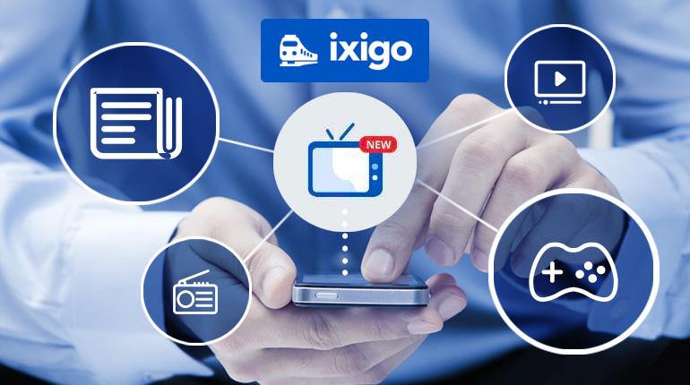 ixigo entertainment section