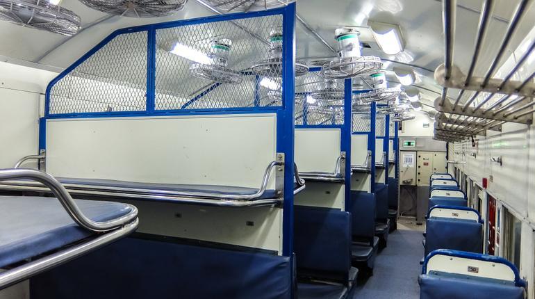 train coaches-Indian Railways/ ixigo