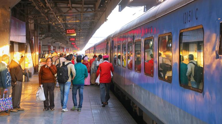 25% discount on train ticket fares