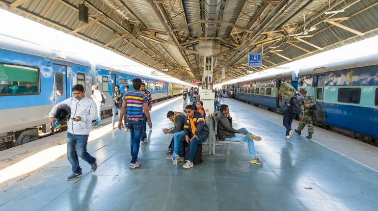 Railway Station India