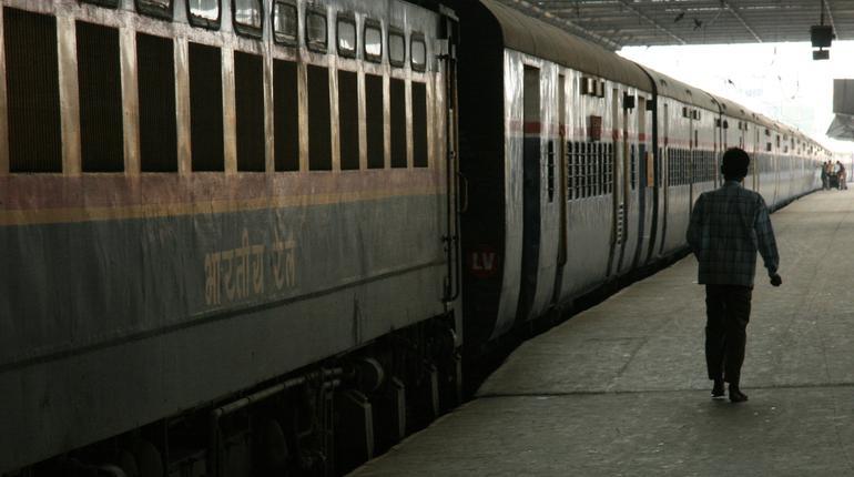 Victoria Terminus - The main train station in Bombay, India