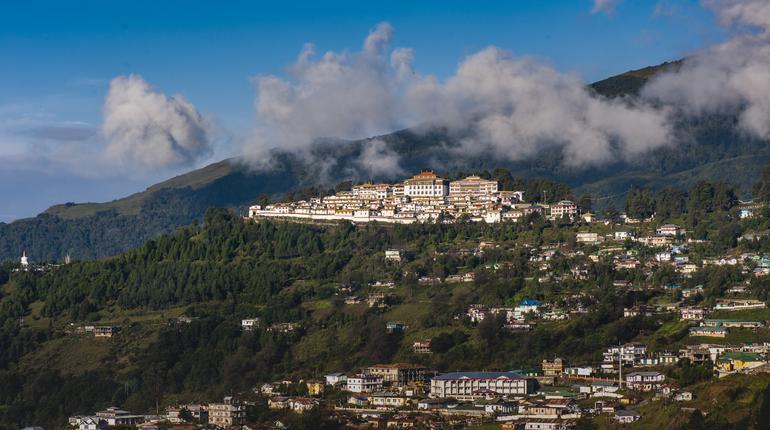 village in mountains of Arunachal Pradesh, India