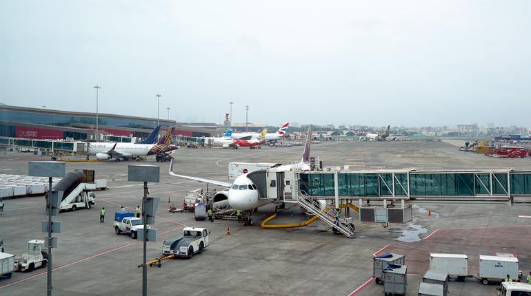 Mumbai Airport Terminal Flight Chhatrapati Shivaji Maharaj Airport Mumbai Maharashtra India