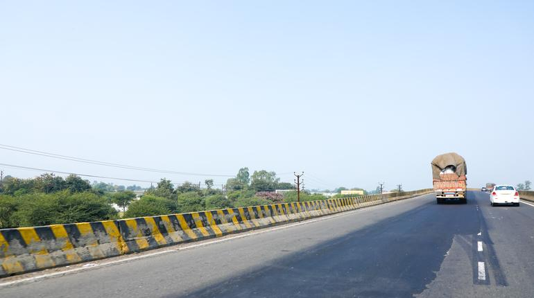 New road photography in india