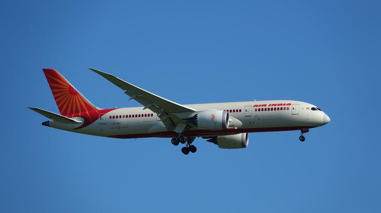 air india B787 atterrissage