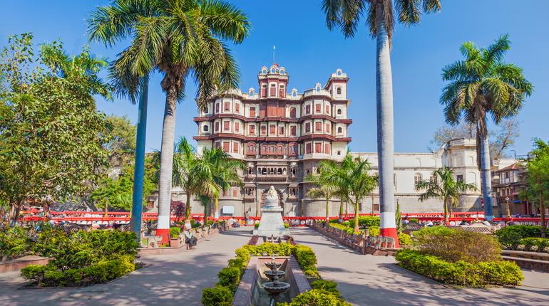 Rajwada is a historical palace in Indore city, India